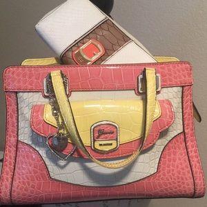 Guess handbag & Guess Wallet